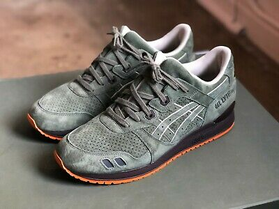 nouveaux styles bc3a9 15fe1 Asics Gel Lyte III Militia X Ronnie Fieg X Kith Mossad Olive Brown Made In  Japan   eBay