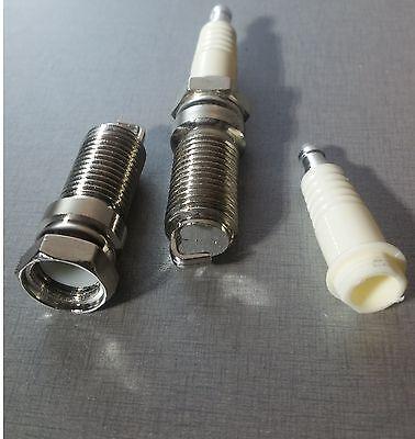 (2) Spark Plug Safe Stash Hideaway Pill FOB Auto Mechanic Hidden Free SHIPPING