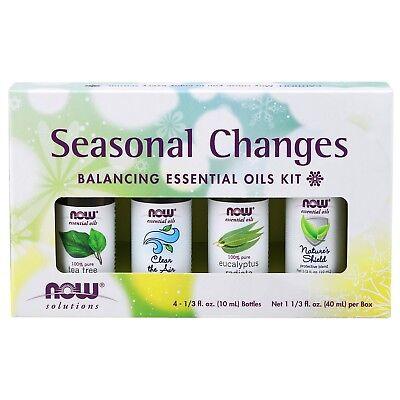 NOW Foods Seasonal Changes Essential Oil Kit