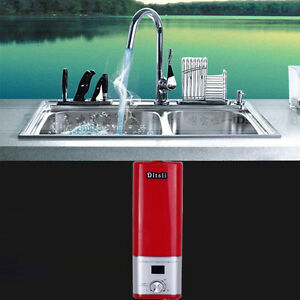 Image Is Loading Tankless Kitchen Basin Faucet Water Heater Under Sink