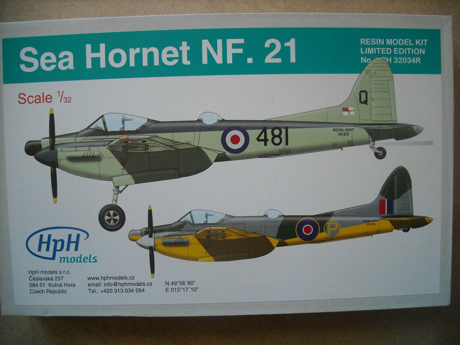 HPH-1 32- HPH32034R-DH SEA HORNET NF.21