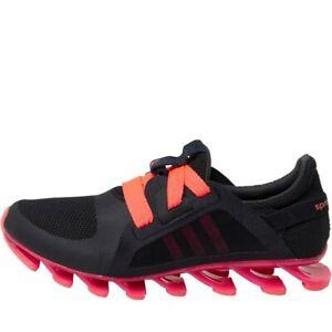 adidas-Springblade-Nanaya-W-Sizes-6-6-5-Black-RRP-130-Brand-New-AQ7542