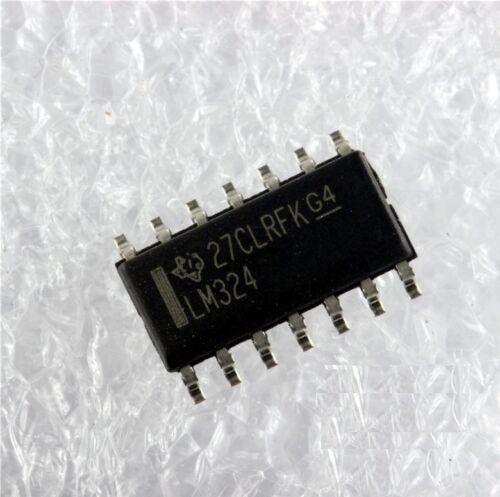 50PCS IC LM324 SOP14 TI NEW GOOD QUALITY S2