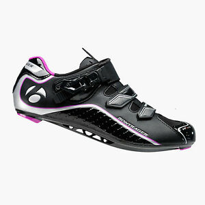 Brand New Bontrager Women's Race DLX Road WSD Cycling Shoes Clipless Black 36/5