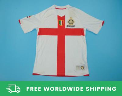 Inter Milan 2007-2008 Away Centenary Jersey Kit Shirt Zanetti Ibra' Sizes S-XXL | eBay