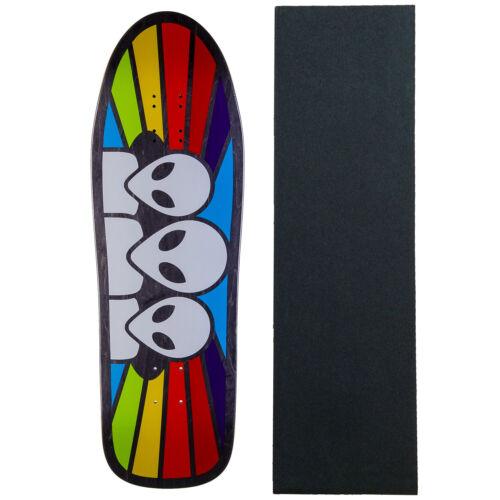 "Assorted Colors Alien Workshop Skateboard Deck Spectrum Old School 9.6/"" Grip"