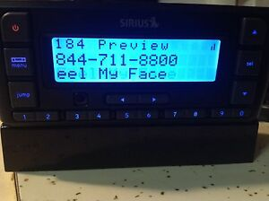 no Accessories Receiver only Sirius SDSV6 Stratus 6 Satellite Radio Receiver