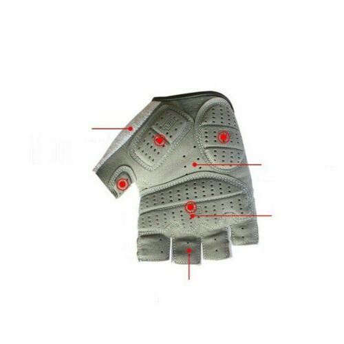 Half Finger Gel Pad Gloves Bike Bicycle Cycling Sports Gym Fitness for Men Women