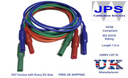 Test Leads for Megger Multifunction Testers MFT 1700 Series JPSS048