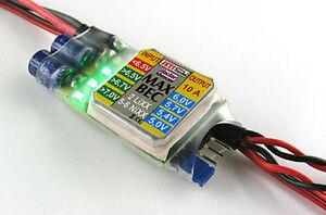 Jeti Duplex 2,4 Ghz Max Bec 80001220 Régulateur De Tension