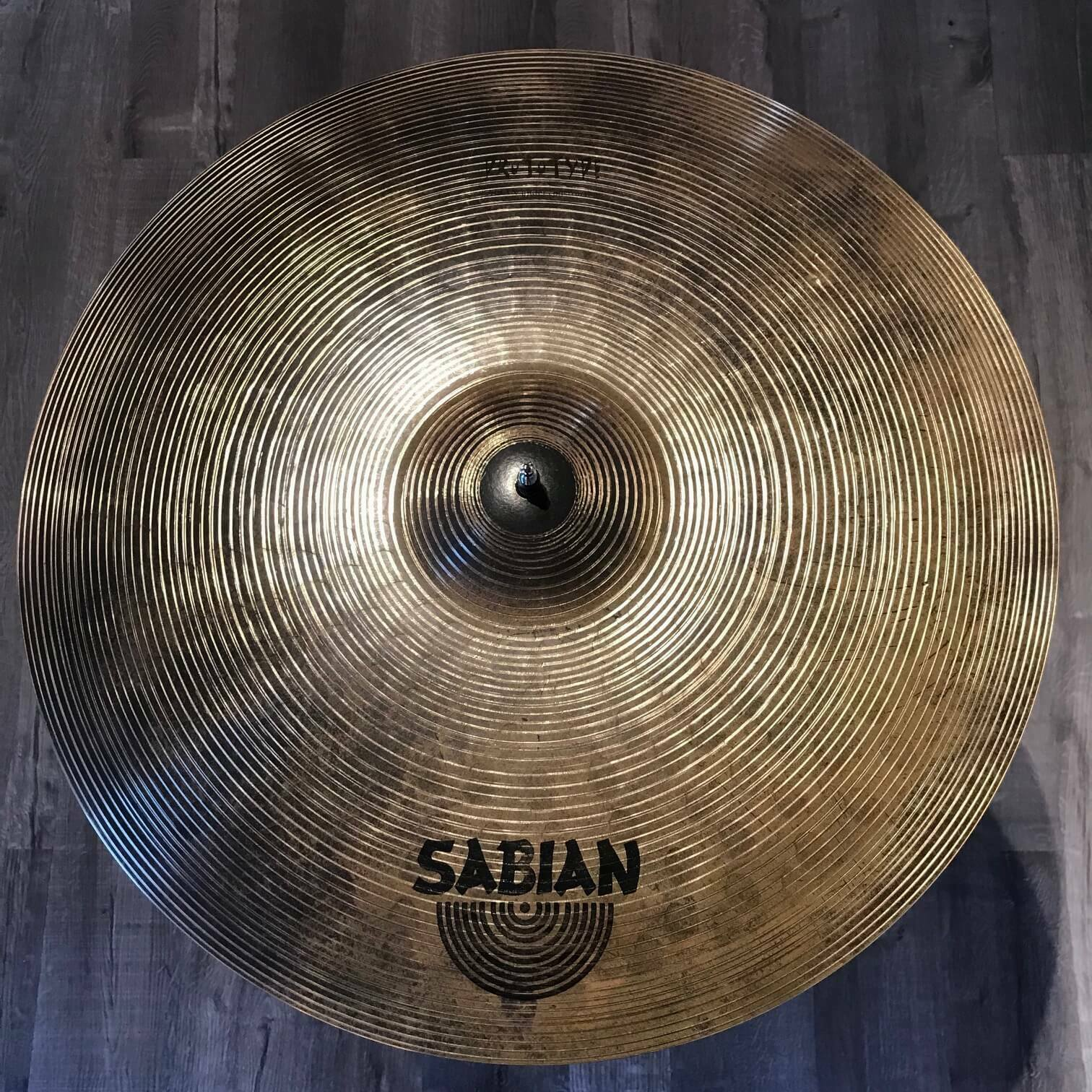 Used Sabian HHX Prototype Ride Cymbal 21