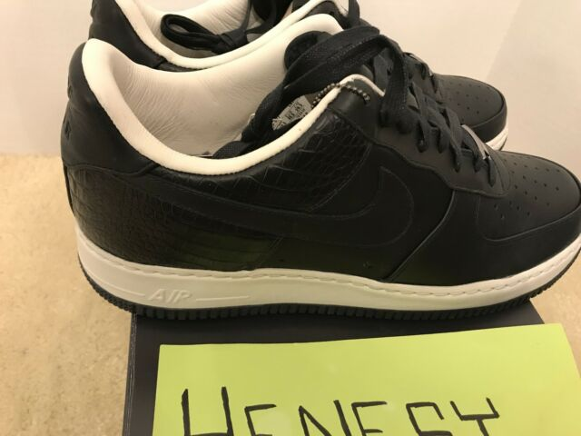 NEW NIKE AIR FORCE 1 SUPREME 07 QK LOW BLACK SAIL 316133 001 Size 11.5 DEADSTOCK