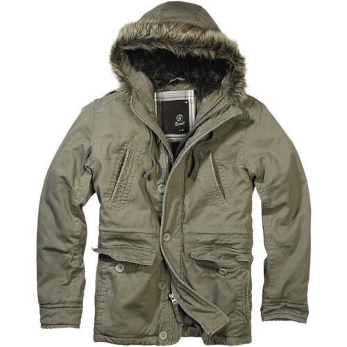 Vintage Giacca Brandit Explorer N3b S xxl Invernale Parka Esercito Army ZOOTqwdR
