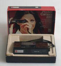GAF POCKET CAMERA 220 110 FILM CAMERA IN ORIGINAL BOX
