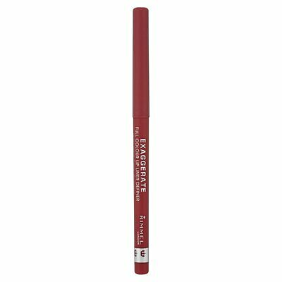 Rimmel Exaggerate Full Colour Lip Liner Definer, Eastend Snob