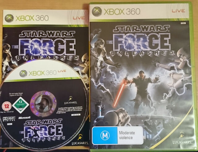 Star Wars The Force Unleashed Xbox 360 (Australia Import)