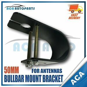 Slotted-Bullbar-Mounted-Bracket-50mm-For-Uniden-Gme-Oricom-Antenna-Aus-Shipping