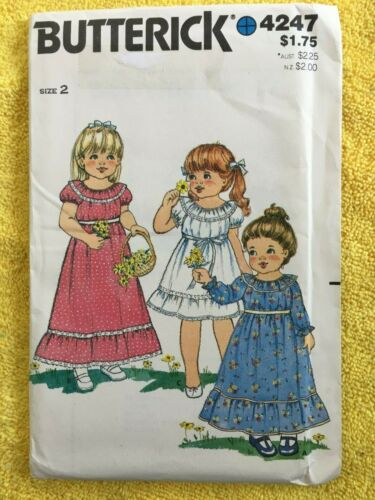 Butterick Patterns ~ All Patterns are Size 2 ~ ~ ~ Listing 3312