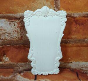 1987-Sittre-Ceramic-Scissors-Wall-Pocket-Unpainted-Victorian-Style