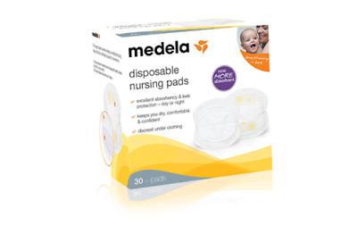 Best Absorbent! Disposable Nursing Pads Medela 30 Pads//Box #89973