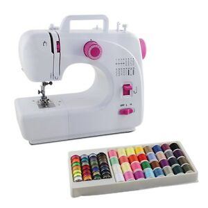 Heavy Duty Electric Sewing Machine Portable Embroidery Tailoring Lightweight