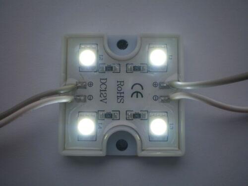 V 14 1 Stück LED Modul 4xPower SMD   LEDs  Weiß   IP65  12V