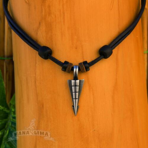 Lederkette Surferkette Herrenkette Herrenhalskette Bikerkette Halskette Metall