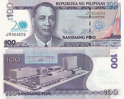 Commemorative National Year of Rice Philippines 100 Pesos 2013 UNC