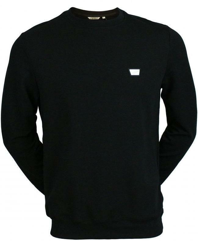 Antony Morato Men's Crew Neck Long Sleeve Sweatshirt - Black