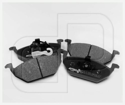 04 Bremsbeläge Bremsklötze VW Caddy 3 III vorneVorderachse ab Bj