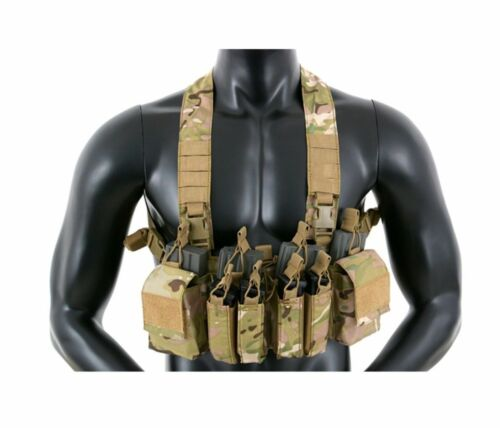 Compact Multi-Mission Chest Rig Warrior Vest Weste Kampfweste Airsoft Paintball