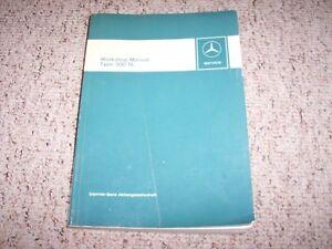 1963 mercedes benz 300sl shop workshop service repair manual rh ebay com Mercedes 300 Mercedes 280SL