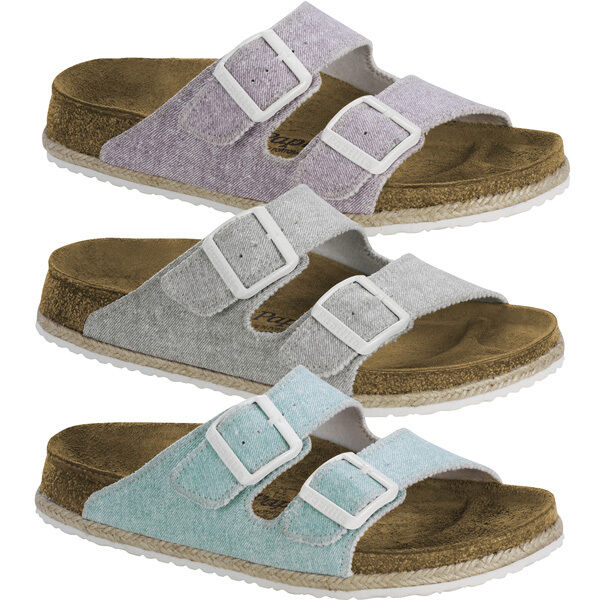 Birkenstock Papillio Arizona Birko-Flor Sandale Damen Beach Schuhe Pantoletten