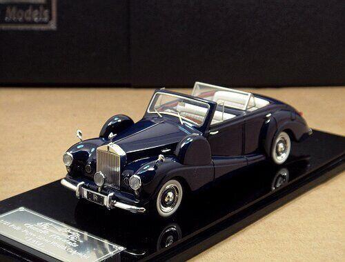 1 43 Rolls-Royce Rolls-Royce Rolls-Royce plata Wraith Cabrio 1954 (Azul Real) 7d750b