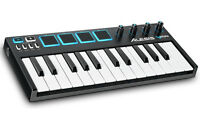 Alesis Vmini Portable 25-key Usb-midi Controller, Mini Keys