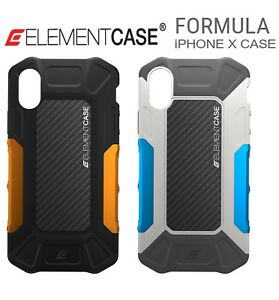 on sale ccb53 840e0 Details about Element Case Formula Drop Tested Cover for iPhone X / XS  CARBON FIBER Protective