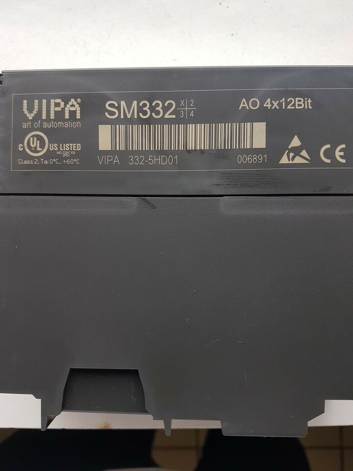 PLC, Vipa SM332 AO 4x12Bit