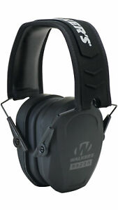 Walker-039-s-Game-Ear-Razor-Slim-Passive-Folding-Muff-Black-Gwp-Rsmpas