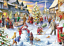 1000-Piece-Jigsaw-Puzzle-Christmas-Snowy-Home-Large-Jigsaw-Puzzle-Game-Toys thumbnail 4