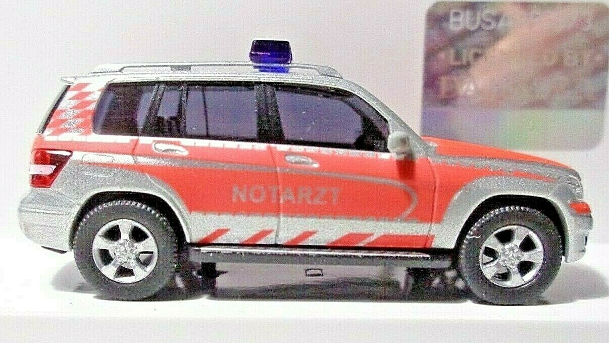 OVP 1//87 H0 Busch 49768 Mercedes-Benz GLK-Klasse Notarzt RETTmobil 2013 Fulda
