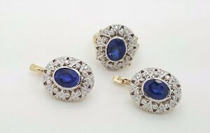 com carat diamond amazon blue ctw sapphire saphire white in earrings and dp