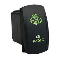 Rocker Switch 669g Laser Cb Radio Led Green Waterproof Polaris Rzr 1000