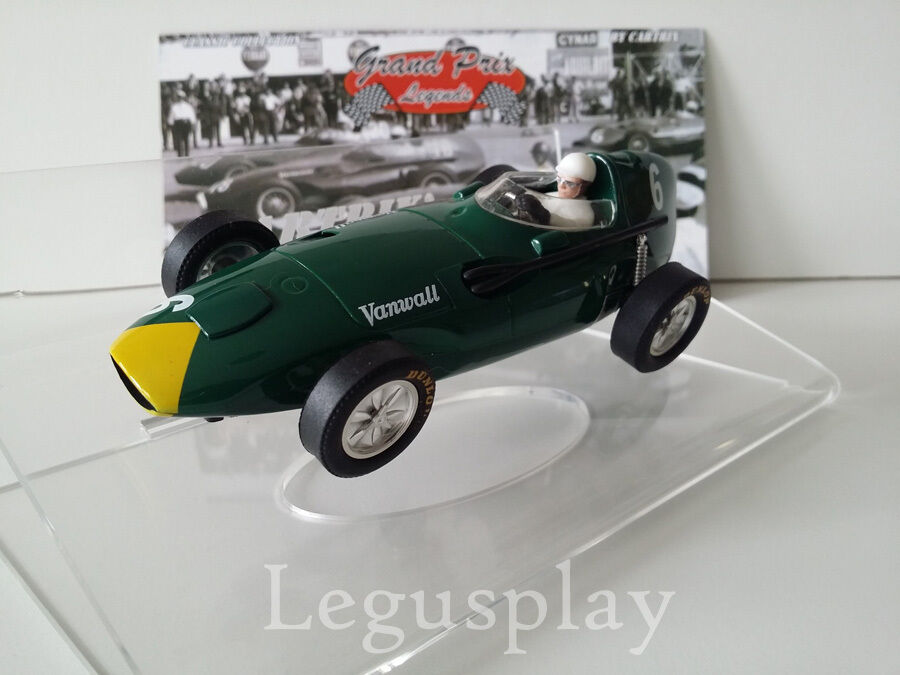 Slot car SCX Scalextric Cartrix 0936 Vanwall 1958 Lewis Evans