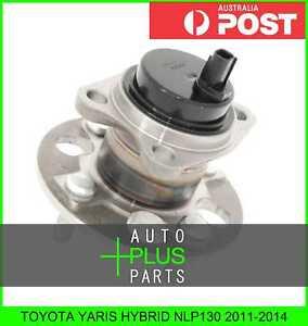 Fits-TOYOTA-YARIS-HYBRID-NLP130-Rear-Wheel-Bearing-Hub