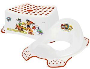 Paw-Patrol-Non-Slip-Up-Step-Stool-amp-Universal-Toddler-Toilet-Training-Seat-Combo