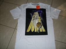 T-shirt uomo NIKE cotone  THE EVIL  DUNK BASKET  bianca