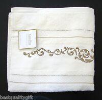 New-kassa Fina Ivory Floral,vintage Bath Towel