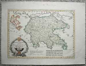 1791-Reilly-map-PELOPONNESE-GREECE