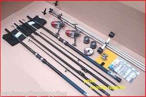 Carbo14-ft-4-2m-Sea-Fishing-Beach-Beachcasting-Rods-Reels-Tripod-Tackle-Kit-Set