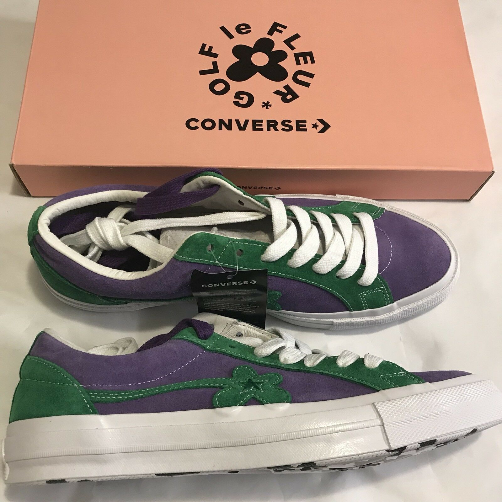 Tyler The Creator x Converse One Star SZ Golf Le Fleur SZ Star 12 Purple Green d367ce